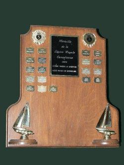Trophée de la succursale pour la médaille de la Légion Royale Canadienne